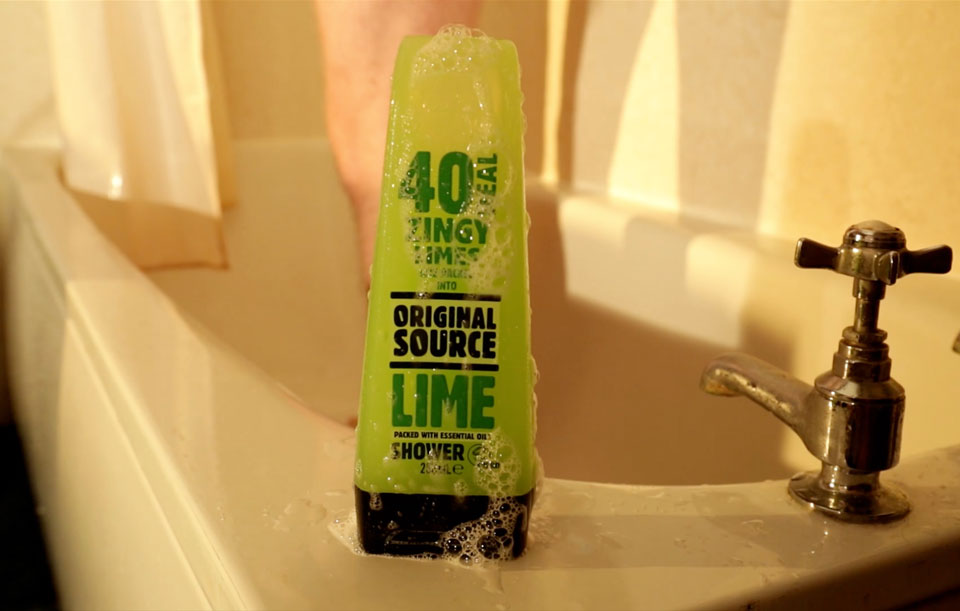 Social media video for Original Source Lime shower gel